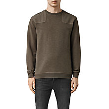 Buy AllSaints Drewest Crew Neck Sweatshirt Online at johnlewis.com