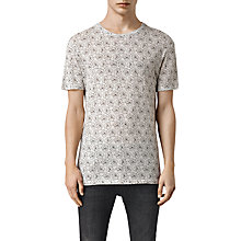 Buy AllSaints Opium Crew Neck Floral T-Shirt Online at johnlewis.com