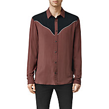 Buy AllSaints Catoosa Long Sleeve Shirt Online at johnlewis.com