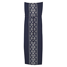 Buy Violeta by Mango Embroidered Detail Dress, Medium Blue Online at johnlewis.com