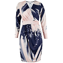 Buy Closet Galaxy Crossover Long Sleeve Dress, Multi Online at johnlewis.com