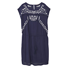 Buy Violeta by Mango Embroidered Belt Dress Online at johnlewis.com