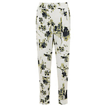 Buy Mint Velvet Elle Print Tapered Trousers, Multi Online at johnlewis.com