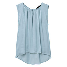 Buy Mango Flowy Top Online at johnlewis.com