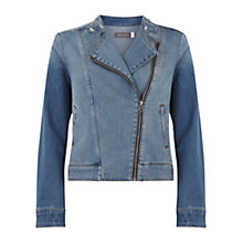 Buy Mint Velvet Denim Jacket, Indigo Online at johnlewis.com