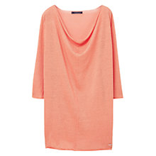 Buy Violeta by Mango Fine-Knit Linen-Blend Jumper Online at johnlewis.com