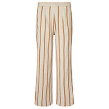 Buy Jigsaw Stripe Patch Pocket Trousers, Beach Online at johnlewis.com