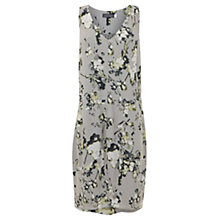 Buy Mint Velvet Ellie Print Cocoon Dress, Grey Online at johnlewis.com
