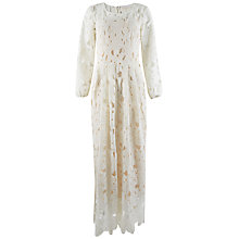 Buy Closet Bell Sleeve Side Split Maxi Dress, Ivory Online at johnlewis.com