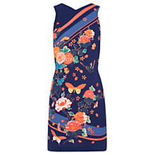 Buy Oasis V&A Chloe Shift Dress, Multi Online at johnlewis.com