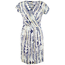 Buy Closet Tribal Print Tulip Wrap Dress, Multi Online at johnlewis.com