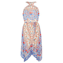 Buy Oasis V&A Lucinda Hanky Hem Dress, Multi Online at johnlewis.com