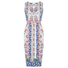 Buy Oasis V&A Camilla Pencil Dress, Multi Online at johnlewis.com