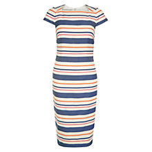 Buy Hobbs Andara Dress, Natural Multi Online at johnlewis.com