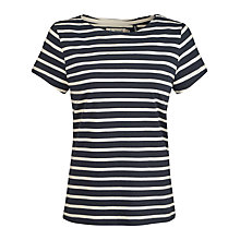 Buy Seasalt Sailor T-Shirt, Orca/Ecru Online at johnlewis.com