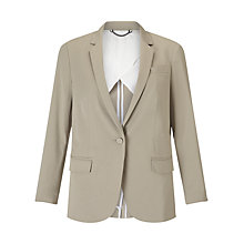 Buy Jigsaw London Cotton Jacket, French Clay Online at johnlewis.com