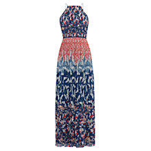 Buy Oasis V&A Maxi Dress, Multi Online at johnlewis.com