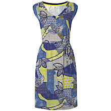 Buy White Stuff Ariba Leaf Jersey Dress, Multi Online at johnlewis.com
