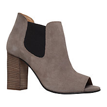 Buy Carvela Amy Peep Toe Ankle Boots Online at johnlewis.com