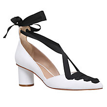 Buy Kurt Geiger Mayfair Tie Up Court Shoes Online at johnlewis.com