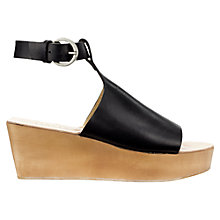 Buy Jigsaw Lina Wedge Heeled Sandals Online at johnlewis.com