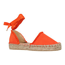 Buy Miss KG Dizzy Flatform Two Part Espadrilles Online at johnlewis.com