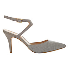 Buy Mint Velvet Haven Cut Out Court Shoes, Grey Online at johnlewis.com