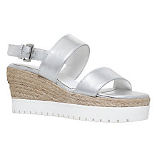 Buy Carvela Kup Wedge Heeled Flatform Sandals Online at johnlewis.com