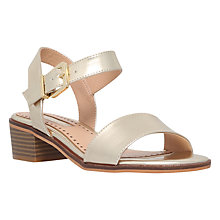 Buy Miss KG Pablo Block Heeled Sandals, Gold Online at johnlewis.com