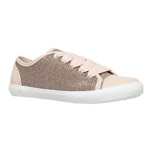 Buy Miss KG Leni Trainers, Gold Online at johnlewis.com