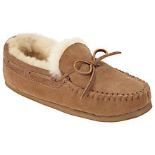 Buy John Lewis Sheepskin Moccasin Slippers Online at johnlewis.com
