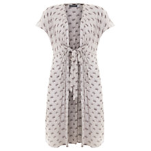 Buy Beach by Mint Velvet Luisa Print Tie Front Kaftan, Multi Online at johnlewis.com