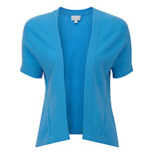 Buy Pure Collection Alice Gassato Shrug, Marine Blue Online at johnlewis.com