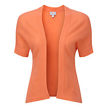 Buy Pure Collection Isabelle Shrug, Coral Rose Online at johnlewis.com