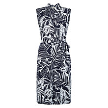 Buy Hobbs Santa Monica Dress, Navy/Ivory Online at johnlewis.com