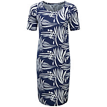 Buy Pure Collection Julia Simple Jersey Dress, Bamboo Print Online at johnlewis.com