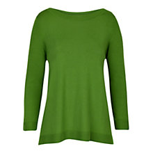 Buy Hobbs Lita Jumper, Sugarsnap Green Online at johnlewis.com