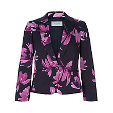 Buy Hobbs Macey Jacket, Navy Multi Online at johnlewis.com