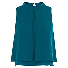 Buy Coast Caster Top, Teal Online at johnlewis.com