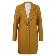 Buy Hobbs Sunny Coat, Sunshine Yellow Online at johnlewis.com