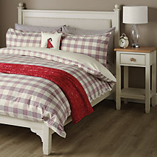 Buy John Lewis Ashby Check Bedding Online at johnlewis.com