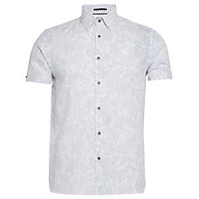 Buy Ted Baker Subzero Shirt, Navy Online at johnlewis.com