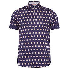 Buy Ted Baker Sojammy Large Floral Printed Cotton Shirt Online at johnlewis.com
