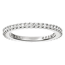 Buy Thomas Sabo Glam & Soul Eternity Ring, Silver Online at johnlewis.com