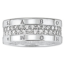 Buy Thomas Sabo Glam & Soul Eternity Ring Online at johnlewis.com