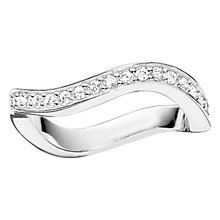 Buy Thomas Sabo Glam & Soul Wave Eternity Ring Online at johnlewis.com