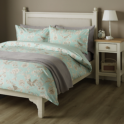 John Lewis Country Nightingales Duvet Cover and Pillowcase Set