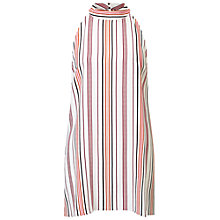 Buy Miss Selfridge Striped Tunic Top, Multi Online at johnlewis.com