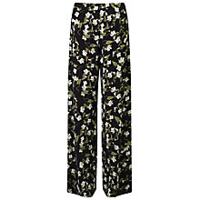 Buy Miss Selfridge Floral Wide Leg Trousers, Multi Online at johnlewis.com