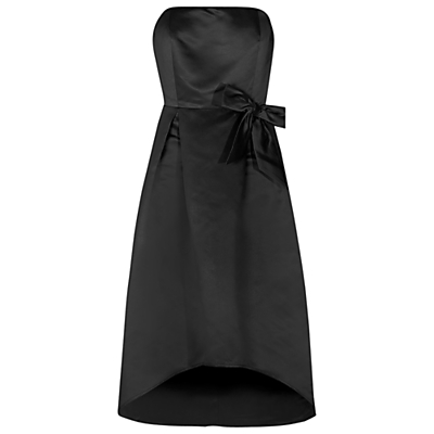 True Decadence Bandeau Prom Dress, Black